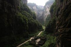 极大的峡谷 库存照片