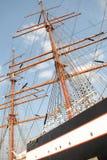 极大的帆船 免版税库存照片