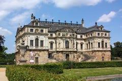 极大的庭院在德累斯顿,德国 免版税库存照片