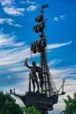 极大的彼得雕象 免版税库存照片