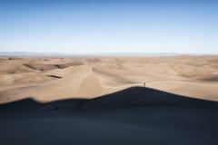 极大的沙丘国家公园,科罗拉多,美国 免版税库存照片