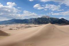 极大的沙丘 -- 水平 免版税库存图片