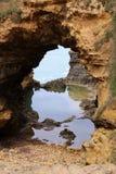 极大的洞穴海洋路 免版税库存图片
