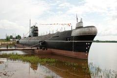 极大的海洋柴油潜水艇B-440 免版税库存照片