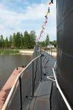 极大的海洋柴油潜水艇B-440 免版税图库摄影