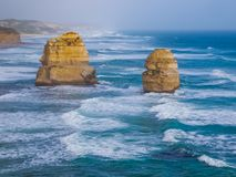 极大的海洋路,维多利亚,澳洲 库存图片