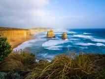 极大的海洋路,维多利亚,澳洲 图库摄影