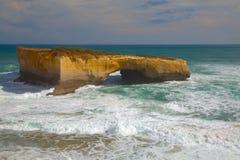 极大的海洋路 库存照片