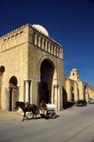 极大的清真寺突尼斯 库存照片