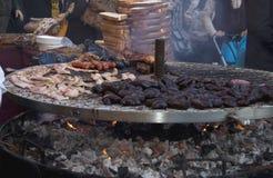极大的烤肉 免版税库存图片