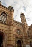 极大的犹太教堂布达佩斯(匈牙利) 免版税库存图片
