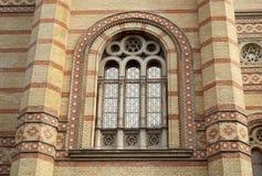 极大的犹太教堂布达佩斯(匈牙利) 库存照片