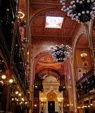 极大的犹太教堂 图库摄影