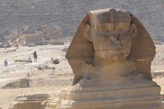 极大的狮身人面象 库存照片