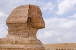 极大的狮身人面象 免版税图库摄影