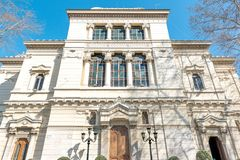 极大的罗马犹太教堂 库存图片
