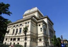 极大的罗马犹太教堂 免版税库存照片