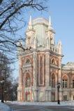 极大的莫斯科宫殿tsaritsino 免版税库存图片