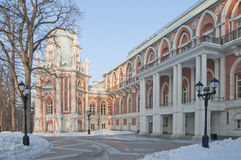 极大的莫斯科宫殿tsaritsino 免版税图库摄影