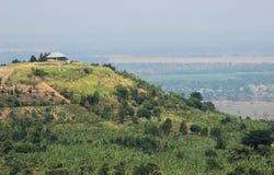 极大的裂口乌干达谷 非洲landscare 免版税库存图片