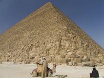 极大的khufu金字塔 库存图片