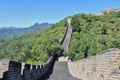 极大的mutianyu墙壁 免版税库存照片