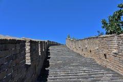 极大的mutianyu墙壁 免版税库存图片