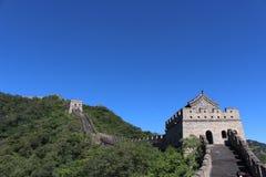 极大的mutianyu墙壁 免版税图库摄影
