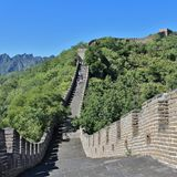 极大的mutianyu墙壁 图库摄影