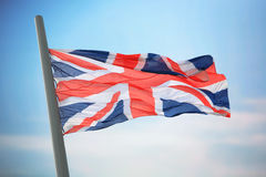 极大英国的标志 库存图片