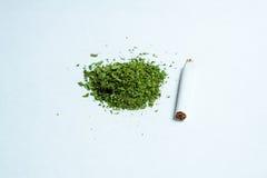 极少数医疗大麻大麻 库存照片