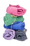 极性五颜六色的羊毛 免版税库存图片