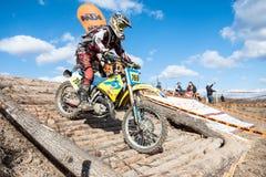 极端体育摩托车,摩托车越野赛竞争 库存照片