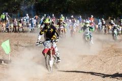 极端体育摩托车,摩托车越野赛竞争 库存图片