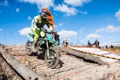 极端体育摩托车,摩托车越野赛竞争 图库摄影