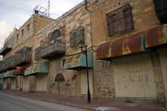 极端保守的犹太处所,希布伦,巴勒斯坦 图库摄影
