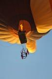 极端空中体操运动员 免版税库存图片