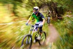 极端登山车竞争 库存照片