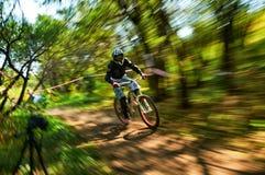 极端登山车竞争 免版税库存图片