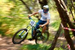 极端登山车竞争 免版税图库摄影