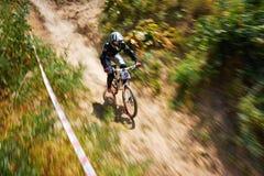 极端登山车竞争 免版税库存照片