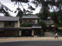结构历史日本日本京都安排 免版税图库摄影