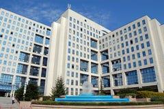 结构商务中心例证主题 免版税库存图片