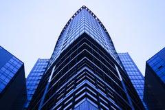 结构商务中心例证主题 库存照片