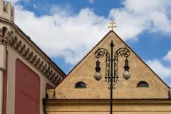 结构在布拉格 免版税库存图片