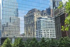 结构城市纽约 免版税库存照片