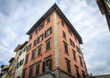 结构安置威尼斯式意大利轻的宫殿 图库摄影