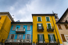 结构安置威尼斯式意大利轻的宫殿 免版税库存照片
