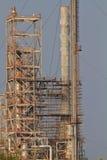 构建炼油厂 库存照片