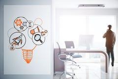 构思设计例证网络向量 免版税库存图片